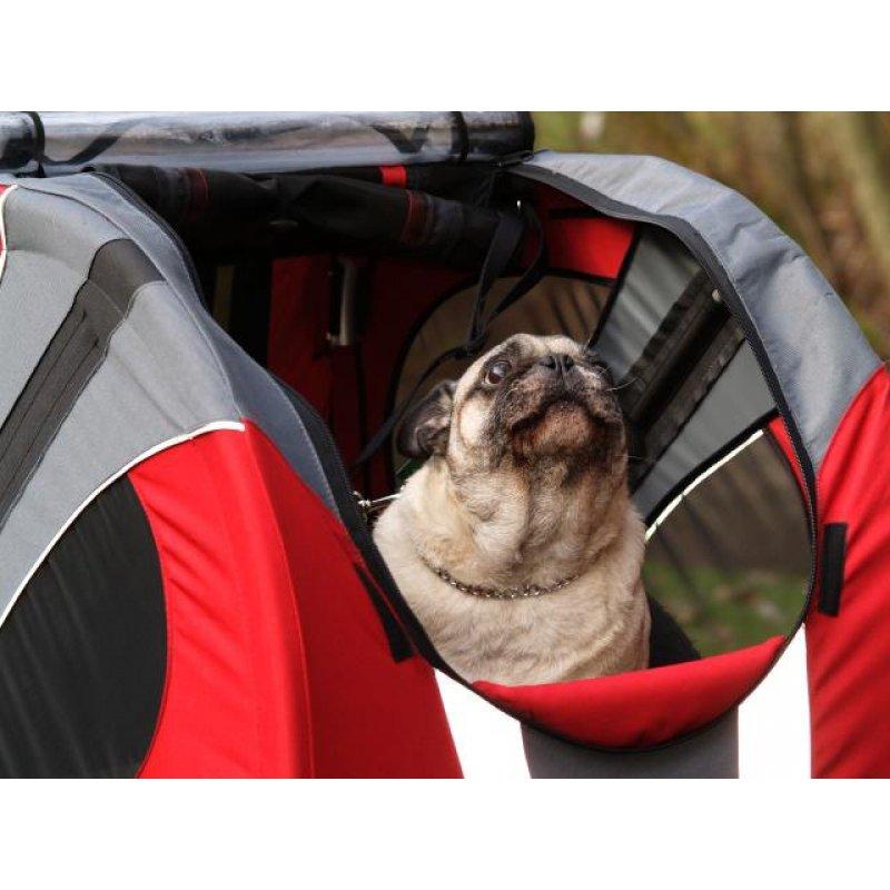 doggyride hunde fahrradanh nger novel trailer f r hunde. Black Bedroom Furniture Sets. Home Design Ideas
